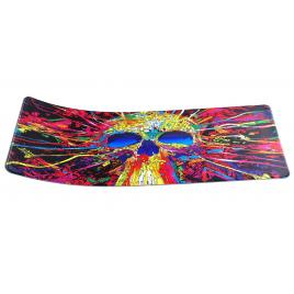 Mousepad LED RGB 800 * 300 * 4mm desen skull