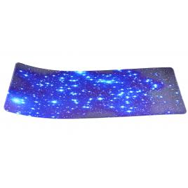 Mousepad LED RGB 800 * 300 * 4mm desen stele