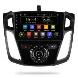 Navigatie Gps Ford Focus 2012 - 2018, Slot SIM 4G , Android , 2 GB RAM + 16 GB ROM, Internet, Aplicatii, Waze , Wi Fi , Usb , Bluetooth
