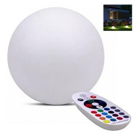 Lampa led rgb 3w model sfera ip65 40cm x 39cm