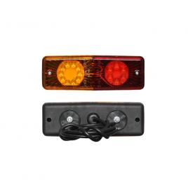 Lampa auto bestautovest pentru remorca partea dreapta/ stanga led 12/24v 200x70x40mm fara lampa numar , 1 buc. kft auto