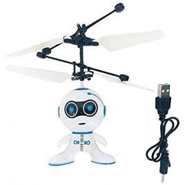 Jucarie interactiva - Robotelul Zburator - Controlat prin inductie termica
