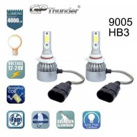 Kit 2 becuri auto LED HB3