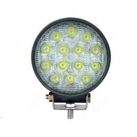 Proiector LED auto offroad 42W 12V-24V 3080 lumeni rotund