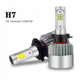 Set 2 LED-uri Auto H7 6500K 72w8000 lumeni, S2