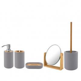 Set accesorii baie din bambus RAYON