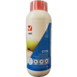 Insecticid acaricid profesional CY 10, anti tantari, tantari tigru, gandaci, muste, furnici, insecte -1 L