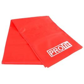 Banda elastica antrenament, Profit, rezistenta crescuta, 200x15 cm, rosu