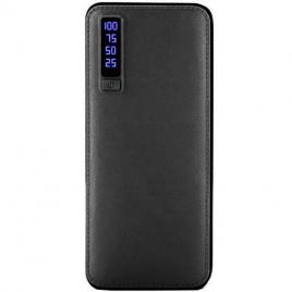 Baterie externa cu 3 USB, lanterna, 20000 mAh, Power Bank