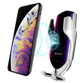 Suport telefon auto cu incarcare wireless, sensor inteligent R1, incarcare rapida