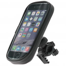 Suport telefon pentru bicicleta pulse pro xl size 78x158mm , fixare ghidon , rezistent la apa kft auto