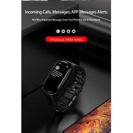 Bratara inteligenta Vip M1 cu Casti wireless