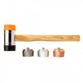 Ciocan cu capete interschimbabile pentru tinichigerie 1340 g neo tools 11-637