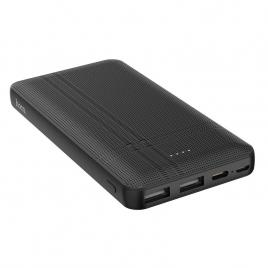 Bateria externa portabila Hoco Nimble cu o capacitate de 10000 mAh si doua porturi USB