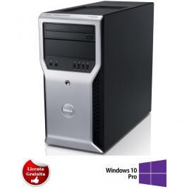 Dell T1600 XEON E3-1225 3.10GHz 8GB DDR3 500GB HDD DVD-ROM Tower Soft Preinstalat Windows 10 Professional