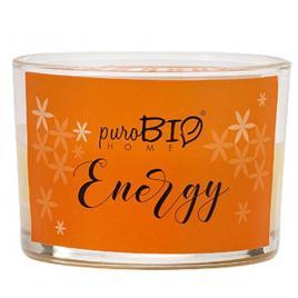 Lumanare parfumata bio 06 Energy 120g PuroBio Home