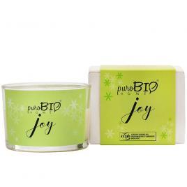 Lumanare parfumata bio 10 Joy 120g PuroBio Home