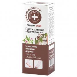 Crema antifungica pentru picioare cu gudron de mesteacan si arbore de ceai, 75 gr, Doctorul Casei