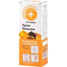 Crema antiinflamatoare pentru probleme articulare cu venin de albine si chondroitin, 75ml, Doctorul Casei