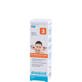 Crema antiinflamatoare sebum control pentru ten acneic , 50 ml,  Elfa Farm