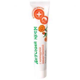Crema antiseptica pentru piele sensibila cu extract de galbenele,  42 ml, Doctorul Casei