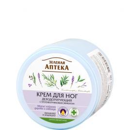 Crema deodoranta pentru picioare cu efect antifungic, 300 ml, ZELENAYA APTEKA