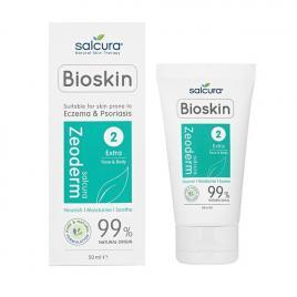 Crema tratament Salcura Zeoderm, reparatoare si hidratanta pentru pielea cu eczema sau psoriazis fata si corp, 50 ml
