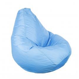 Fotoliu Bean Bag BIG, tip para, impermeabil, 73 cm, culoare albastru