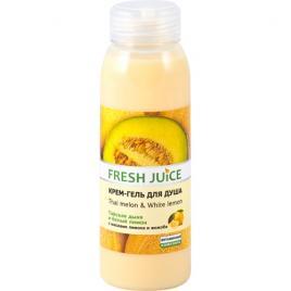 Gel de dus cremos cu extract de pepene galben si ulei de lamaie, 300 ml, FRESH JUICE