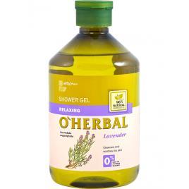 Gel de dus relaxant cu extract de lavanda,  O'Herbal, 500 ml