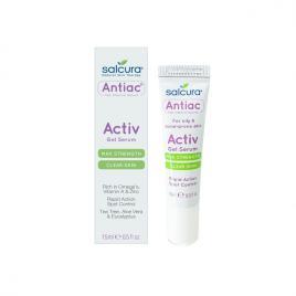 Gel tratament Salcura Antiac, acnee si pete pigmentate, pentru fata si corp, 15 ml