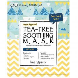 Masca calmanta de tip servetel cu tea tree pentru tenul sensibil cu probleme, Huangjisoo, 1 buc