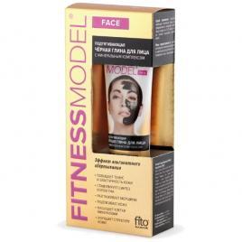 Masca faciala efect de lifting cu argila neagra si minerale, 45 ml,  Fito Cosmetic