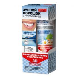Pasta de dinti efect de albire cu argila albastra de Baikal 45 gr, Fito Cosmetic