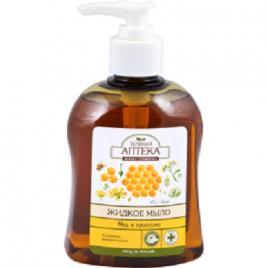 Sapun lichid cu extracte de miere si propolis, ZELENAYA APTEKA, 300 ml