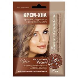 Vopsea-crema vegetala henna blond natural, FITO COSMETIC, 50 gr