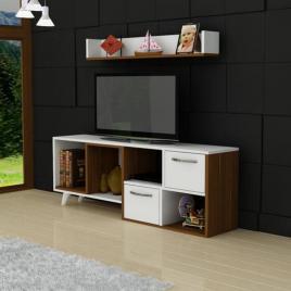 Comoda TV Yeliz cu 1 raft, 120x55x30 cm