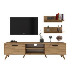 Comoda TV cu 2 Rafturi , Forest,, 48,6 x 180 x 35 cm