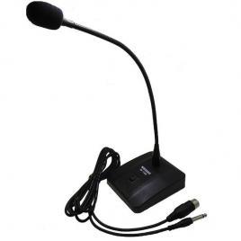 Microfon profesional pentru conferinta cu stativ inclus weisre m-180