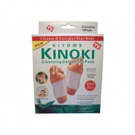 Set 10 plasturi kinoki kiyome pentru detoxifierea organismului