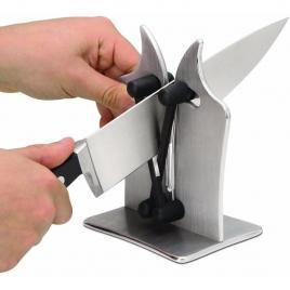 Dispozitiv manual pentru ascutit cutite, foarfece bavarian edge