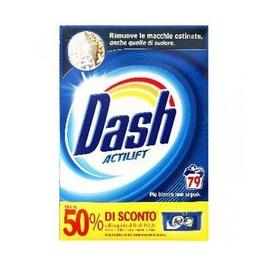 Detergent rufe pudra dash actilift classico 79 spalari 5.135kg