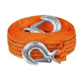 Chinga remorcare sufa ancorare si/sau ridicare chinga tractare 1.2 tone, lungime 4 metri, fixare cu carlige,orange kft auto