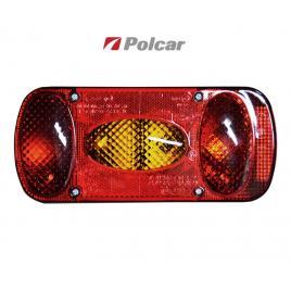 Lampa auto bestautovest pentru remorca cu 5 functii , partea stanga 12/24v , 215x100x55mm , 1 buc. kft auto