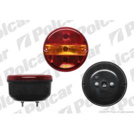 Lampa auto bestautovest pentru remorca partea dreapta/ stanga 12/24v 140mm fara lampa numar, transparente , 1 buc. kft auto