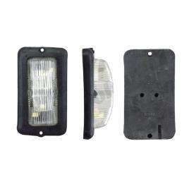 Lampa gabarit auto bestautovest 12v/ 24v, dreptunghiulara alba, 50x95x30mm , 1 buc. kft auto