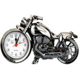 Ceas in forma de motocicleta cu alarma si mecanism quartz
