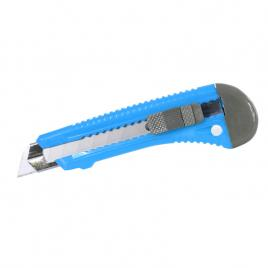 Cutter plastic cu ghidaj si buton blocare - 18mm