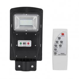 Panou solar stradal, integrated lamp, 30 w, ip65, 40 x led, telecomanda,  senzor miscare/lumina