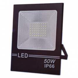 Proiector led flood light, 50w, 48 led, a++, ip66,  lumina alba